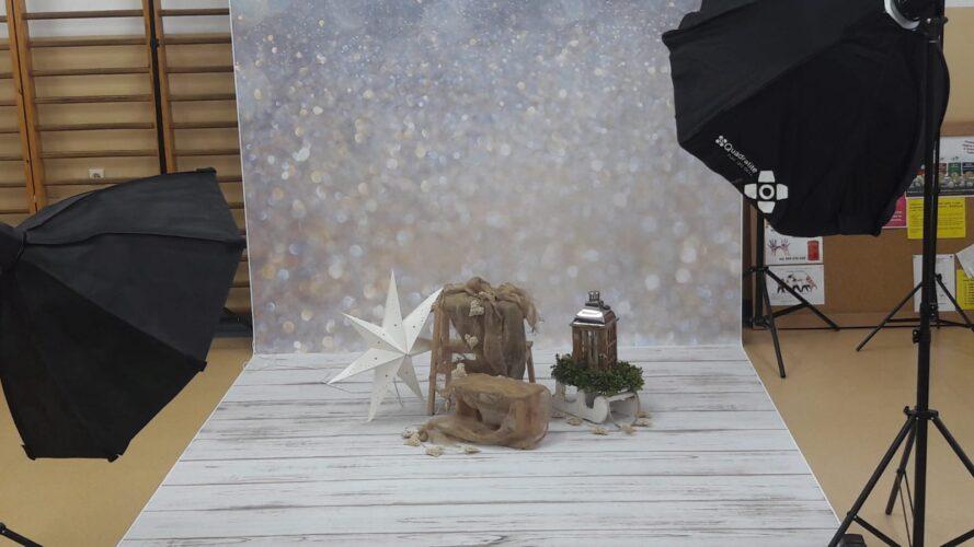 Kolejny dzień świątecznej sesji zdjęciowej...
